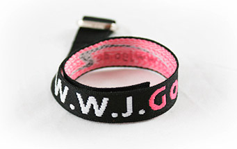 W.W.J.Go Armband